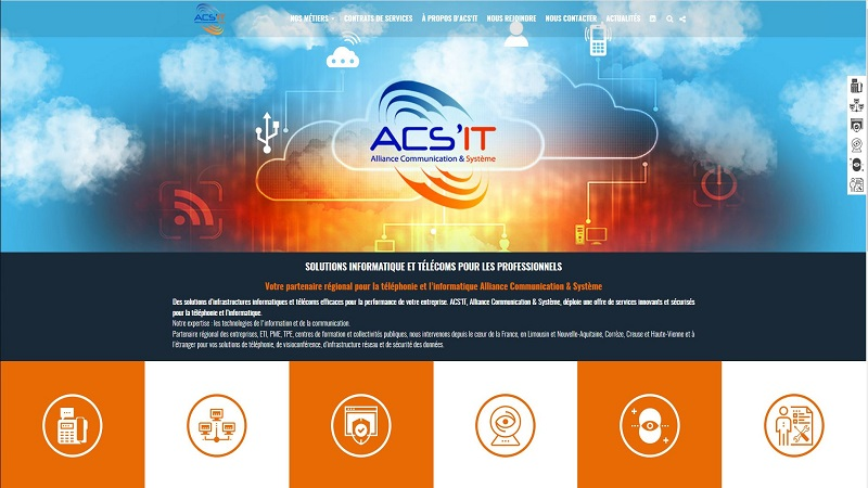 Site Internet - ACS'IT