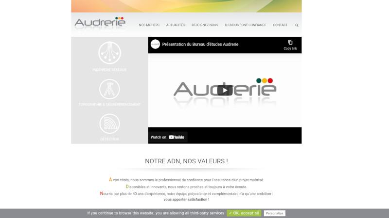 Site Internet - BUREAU D'ETUDES AUDRERIE
