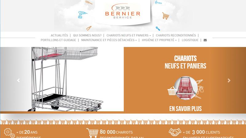 Site Internet - Bernier service