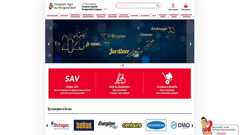 Site Internet - Les Briconautes