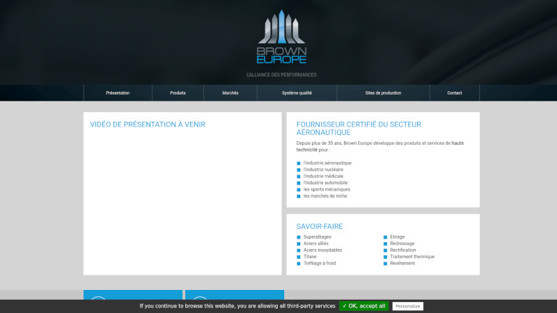 Site Internet - Brown Europe