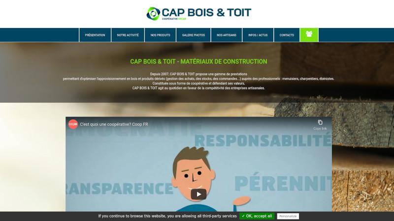 Site Internet - CAP BOIS ET TOIT