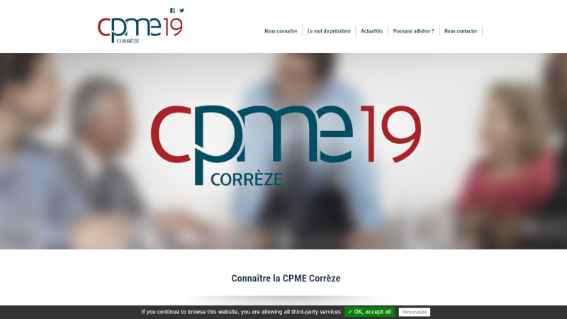 Site Internet - CPME19