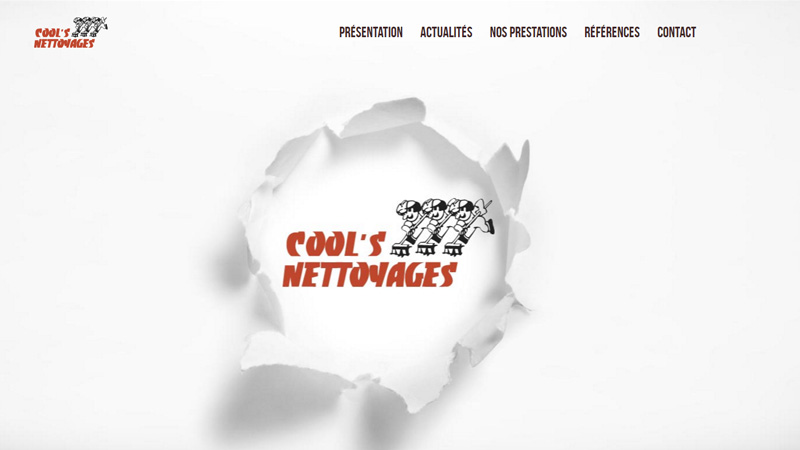 Site Internet - Cools Nettoyages