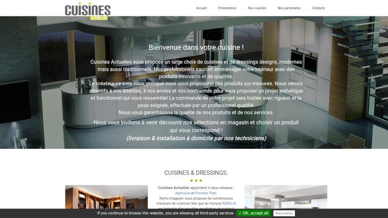 Site Internet - Cuisines Actuelles
