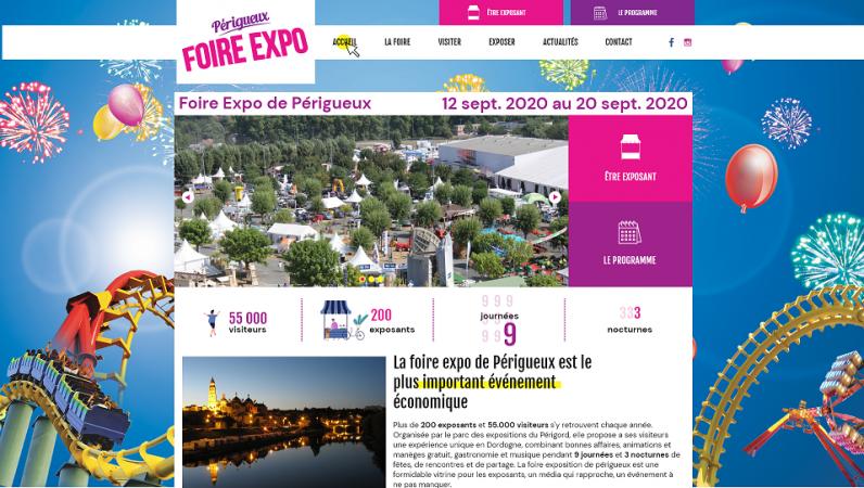 Site Internet - Foire Exposition Périgueux