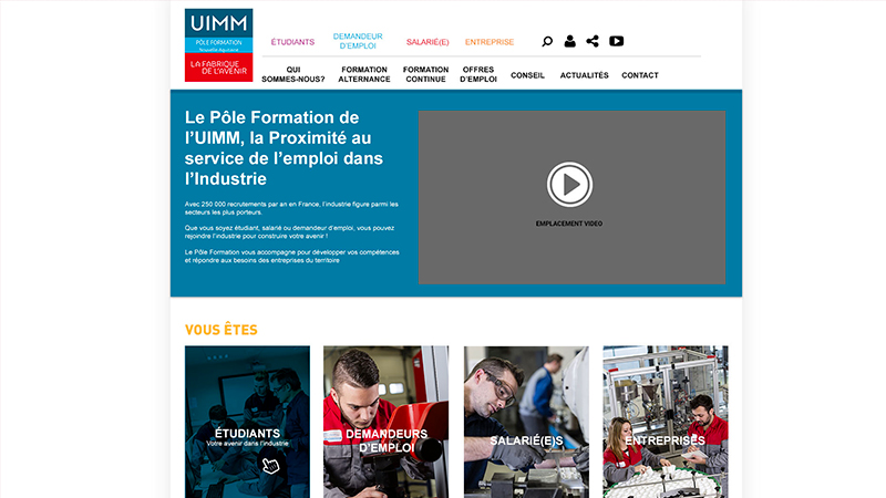 Site Internet - UIMM Limousin