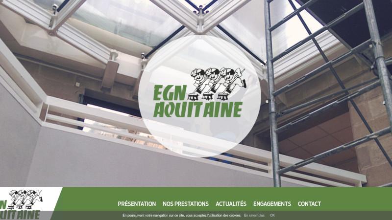 Site Internet - EGN-AQUITAINE
