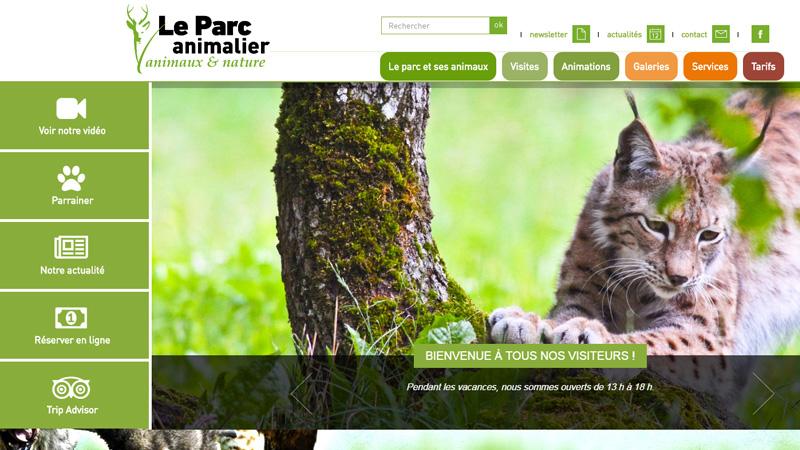 Site Internet - Parc animalier de Gramat