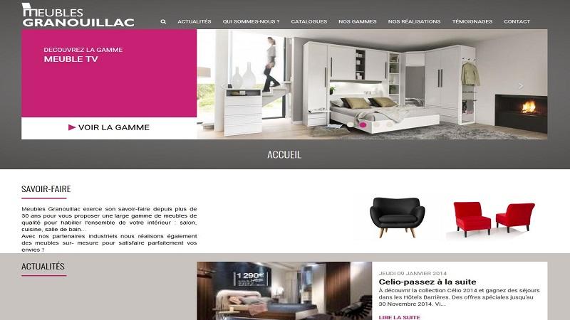 Site Internet - Espace Granouillac