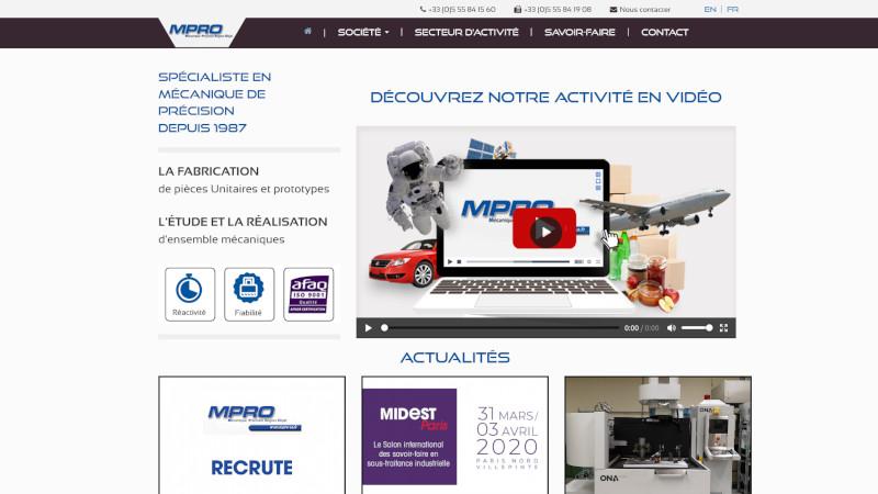 Site Internet - MPRO