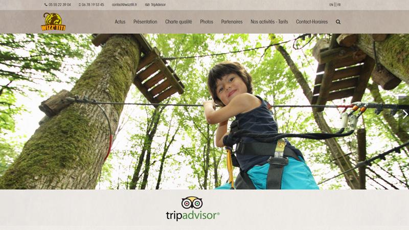 Site Internet - Parc Wizz'titi