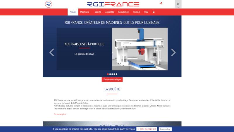 Site Internet - RGI FRANCE