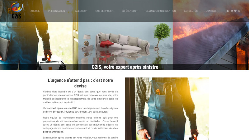Site Internet - C2IS