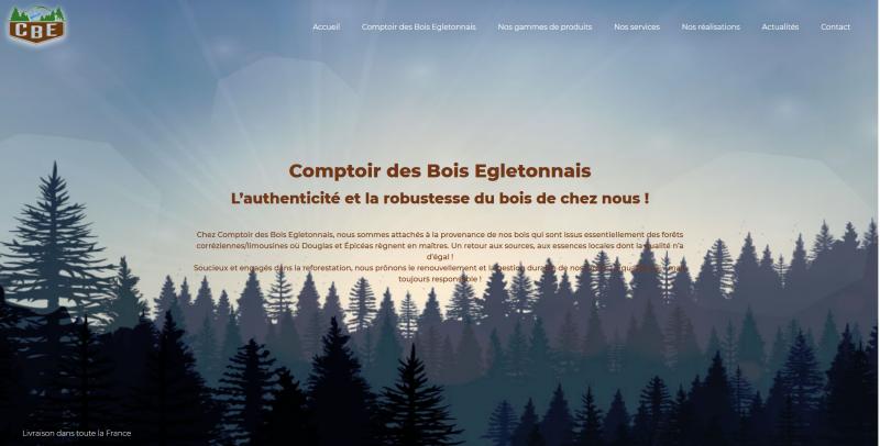 Site Internet - CBE corrèze