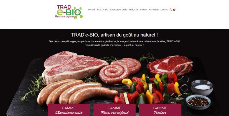 Site Internet - TRAD'E BIO
