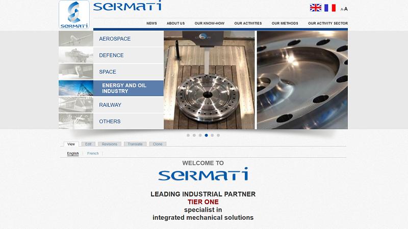 Site Internet - Sermati