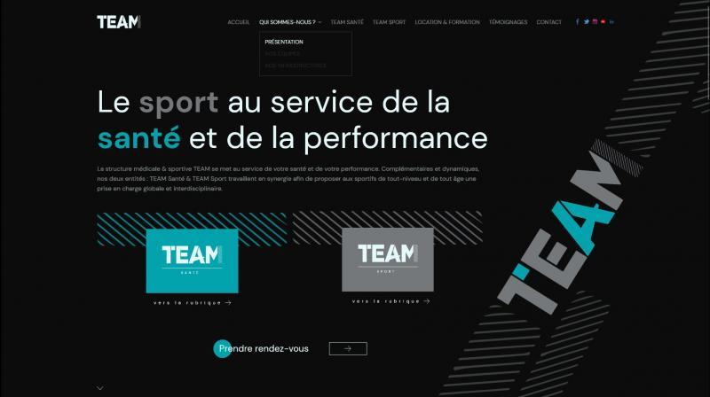 Site Internet - Team Sport Santé