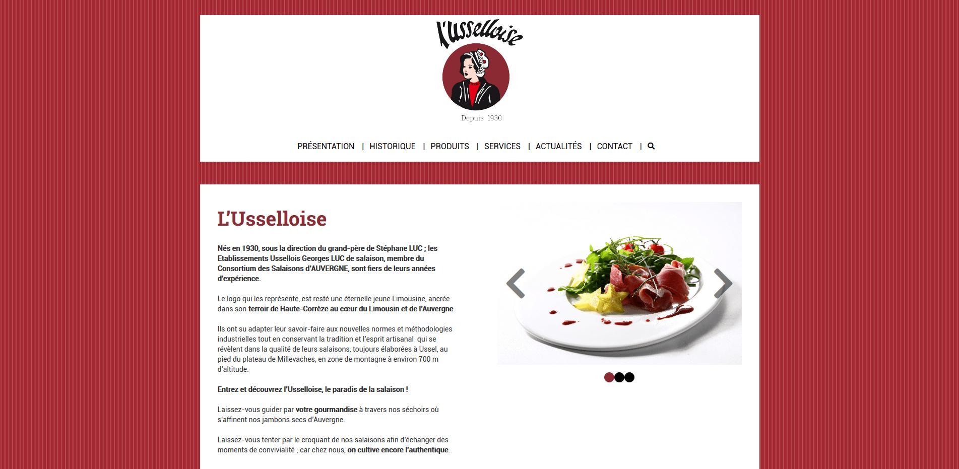 Site Internet - Usselloise