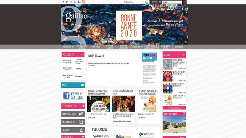 Site Internet - Ville de Gaillac