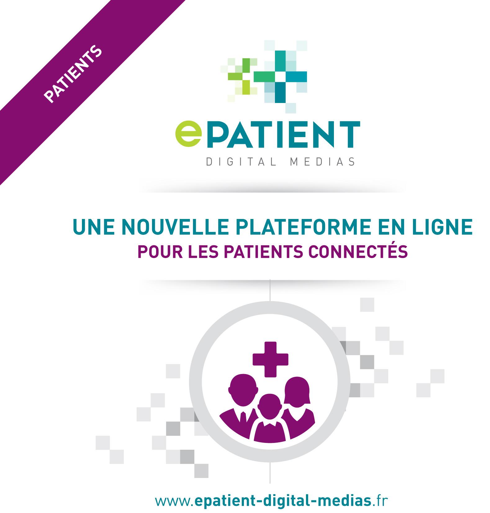 Réalisation Comevents - E-Patient Digital Médias - Plaquette de présentation