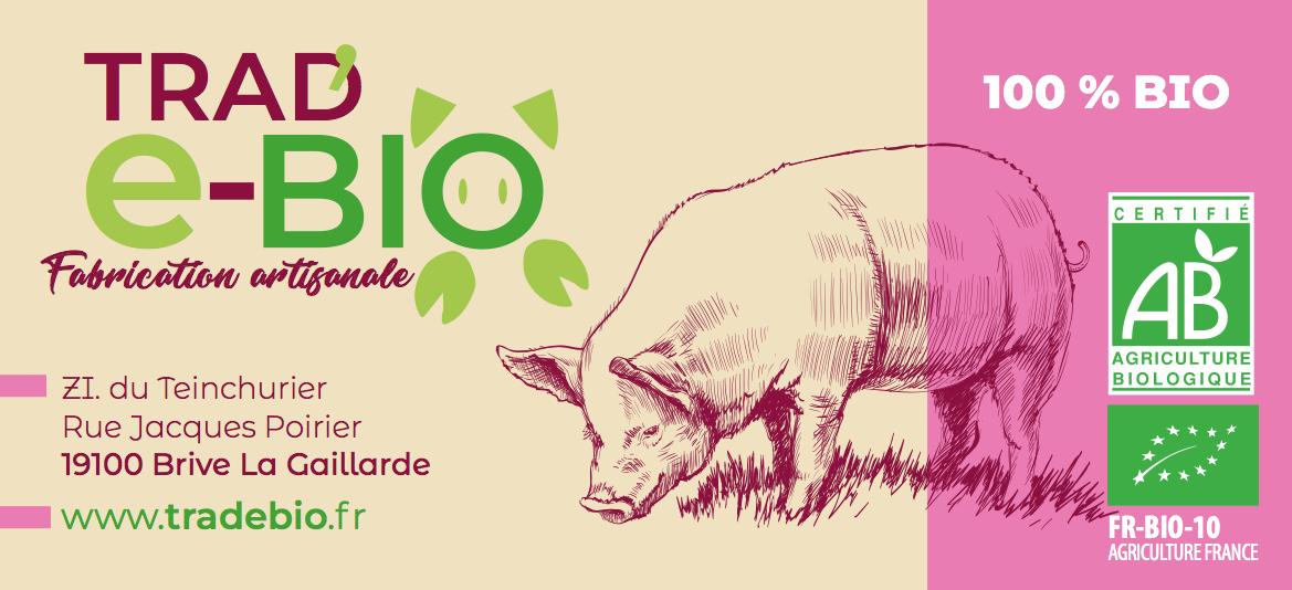 Etiquette produit Tradebio