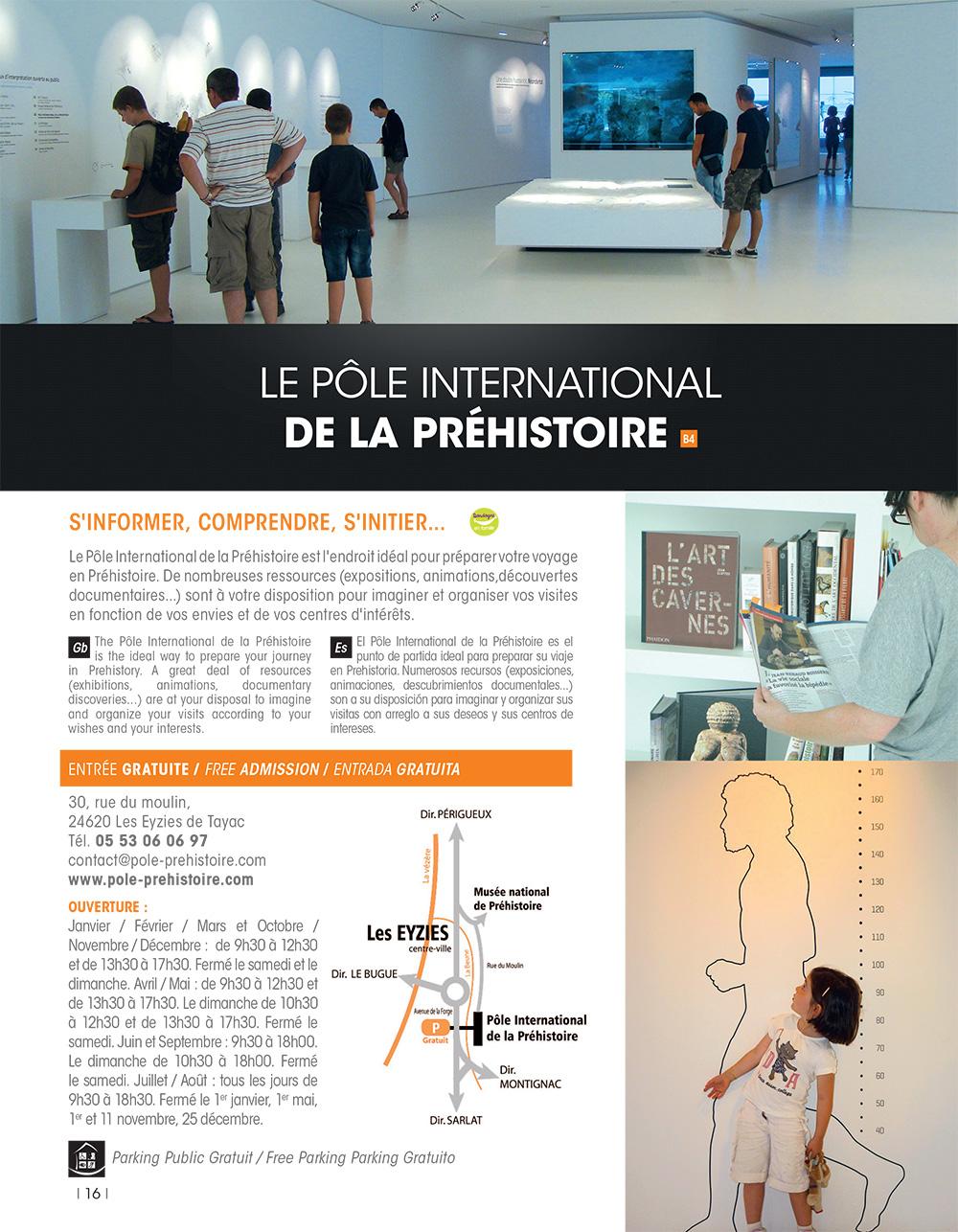 Guide office de tourisme vallée de la Vézère p16