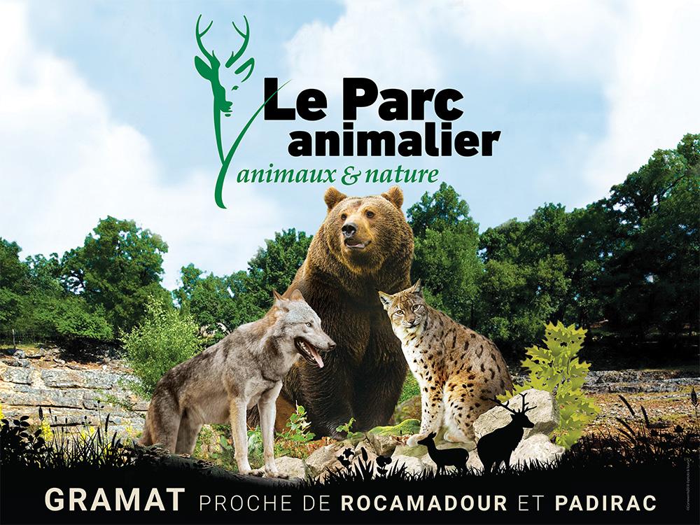 Affiche 4x3 - Parc animalier de Gramat