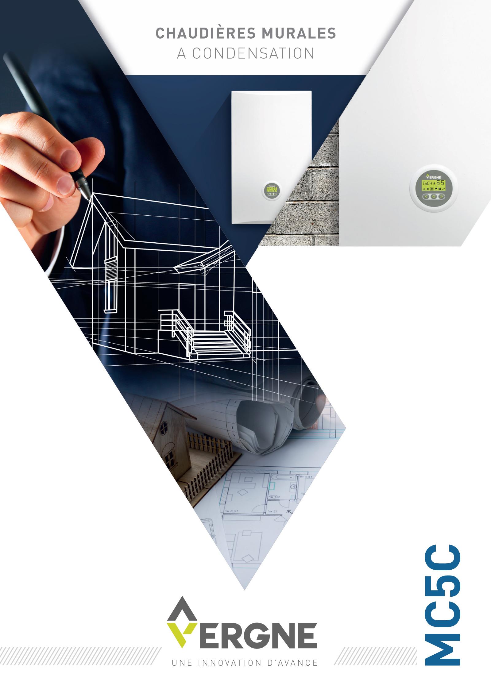 Réalisation Comevents - Vergne Innovation - Plaquette MC5C - Une de couverture