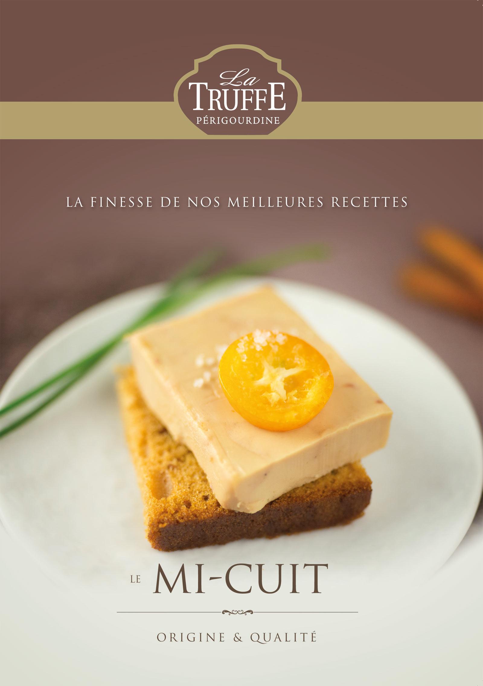 Réalisation Comevents - La Truffe Périgourdine - Plaquette Mi-cuit - Une de couverture