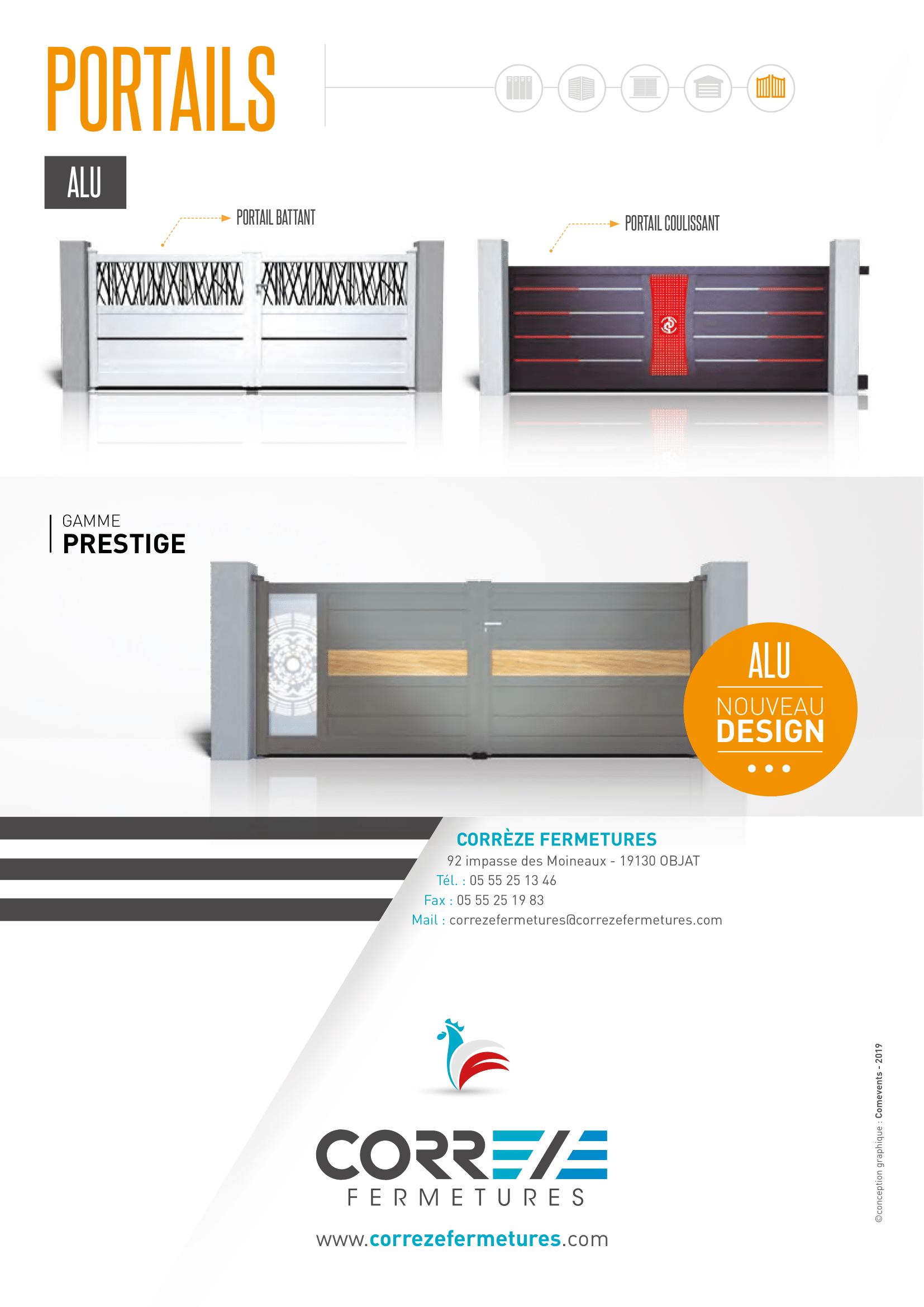 Réalisation Comevents - Corrèze Fermetures - Plaquette Salon Batimat 2019 - Page interieure deux