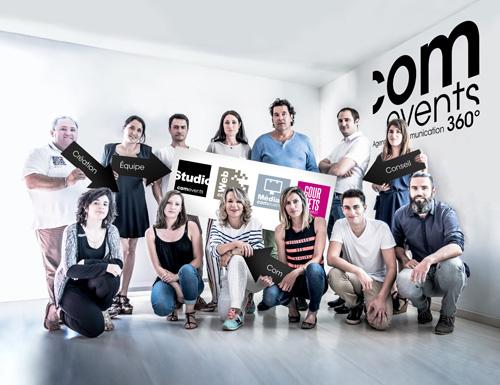 Team Comevents - Agence de Communication - L'équipe